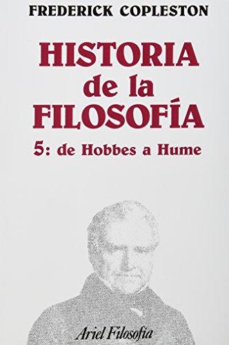Historia De La Filosofía Tomo V De Hobbes a Hume: Copleston, Frederick