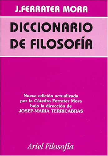 9788434487550: Diccionario de filosofia 4 tomos