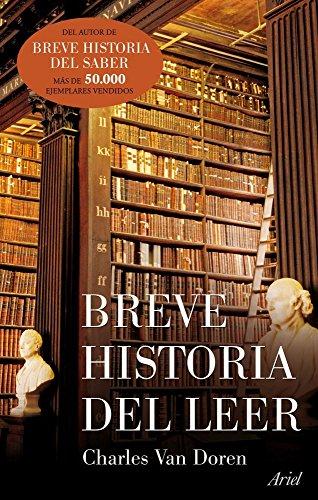9788434488342: Breve historia del leer