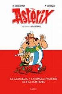 La gran rasa/L'odissea d'Astèrix/El fill d'Astèrix - Uderzo, Albert; Uderzo, Albert (Ilus.); Mora, Víctor (Trad.); Berta (Trad.); Cantero, David (Pr.)