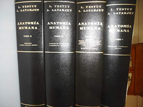 9788434511446: Tratado de anatomia humana. 4 tomos