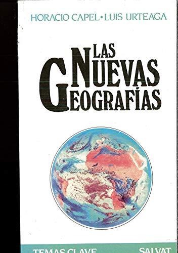 9788434542389: Nuevas geografias, las