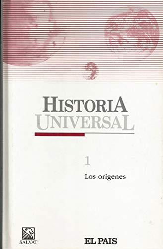 9788434562301: Historia Universal 1. Los origenes