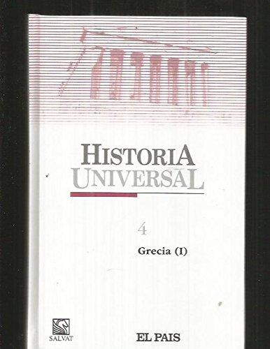 HISTORIA UNIVERSAL. TOMO 4: GRECIA. VOLUMEN I: Varios