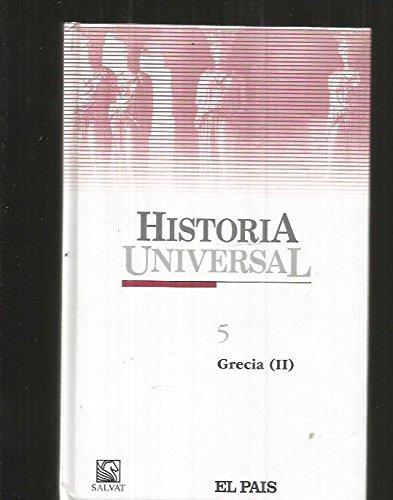 9788434562424: Historia Universal. Tomo 5. Grecia II