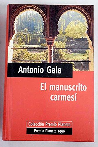 9788434563353: EL MANUSCRITO CARMESI
