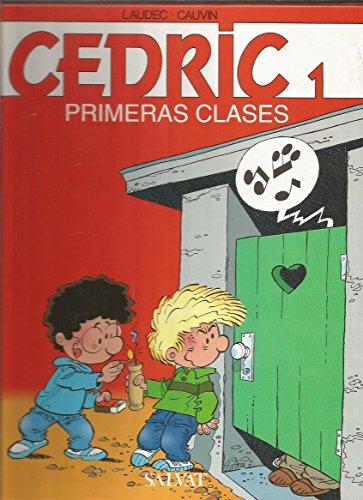 9788434564329: Cedric - primeras clases (comic)