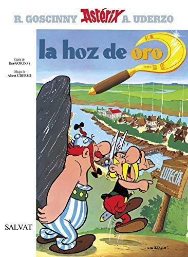 9788434567207: La hoz de oro (Asterix) (Spanish Edition)