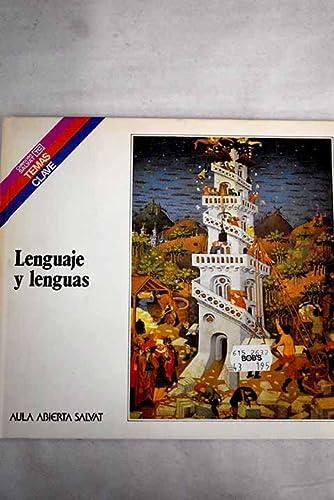 9788434579323: Lenguaje y lenguas