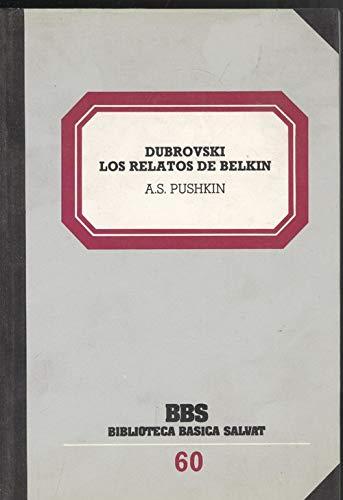9788434580633: Dubrovski. los relatos de belkin