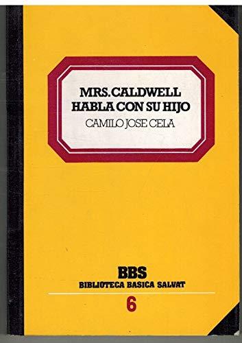 9788434582682: Mrs. caldwell habla con su hijo