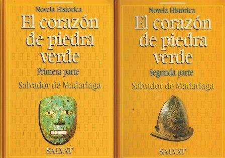 9788434590748: El corazon de piedra verde I