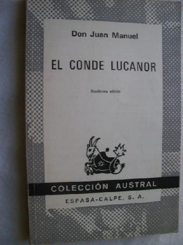 9788434601031: Conde lucanor, el