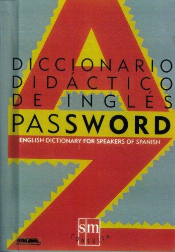 9788434833654: Diccionario Password
