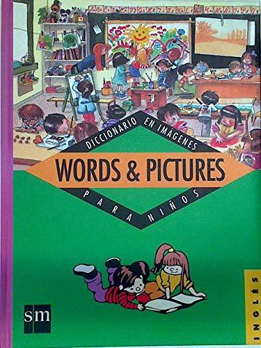 9788434837928: Words & pictures (diccionario imagenes para niños ingles)