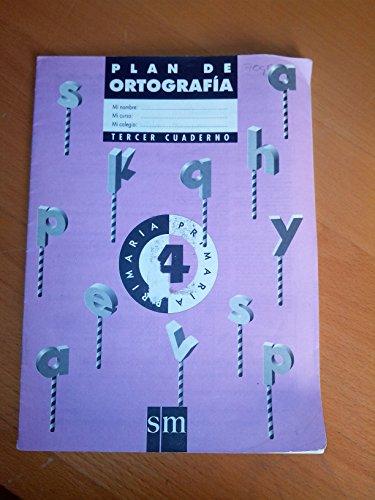 9788434839465: 4EP PLAN DE ORTOGRAFIA (SM).