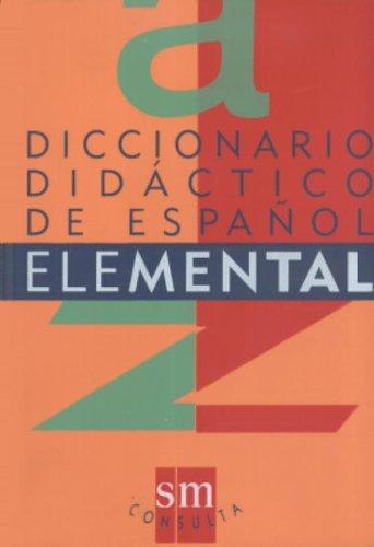 9788434843073: Diccionario Didactico De Español Elemental