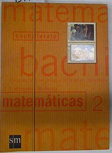 9788434854307: Matematicas, 2º bachillerato