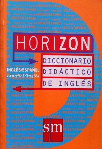 9788434854352: Horizon. Diccionario Didactico De Ingles-Español