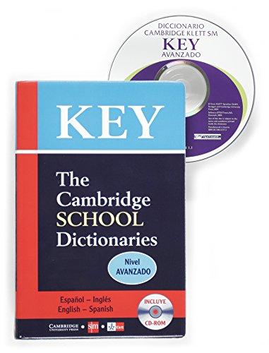 9788434861374: Key - The Cambridge School Dictionaries - Nivel Avanzado: Español/Inglés - English/Spanish - 9788434861374