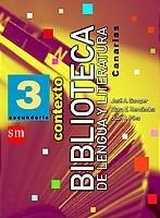 9788434884045: Lengua y literatura, Biblioteca. 3 ESO. Contexto. Canarias - 9788434884045
