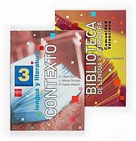 9788434884052: Lengua y literatura, Biblioteca. 3 ESO. Contexto. Comunidad valenciana - 9788434884052