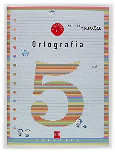 9788434888814: Cuaderno 5 de ortografía, Pauta. 2 Primaria - 9788434888814