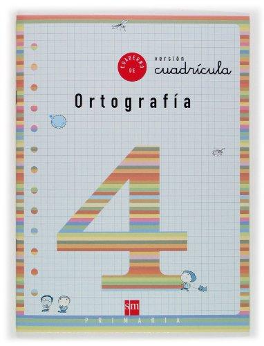 9788434888838: Cuaderno 4 de ortografía, Cuadrícula. 2 Primaria - 9788434888838