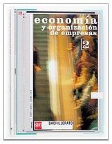 9788434894501: Economía y organización de empresas 2º Bachillerato. - 9788434894501
