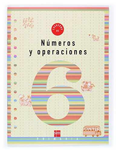9788434897298: Números y operaciones 6