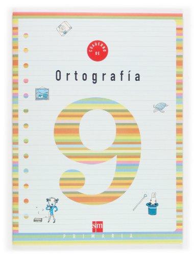 9788434898578: Cuaderno 9 de ortografía. 3 Primaria - 9788434898578