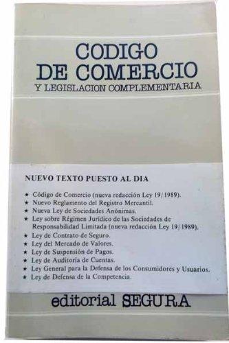 9788434901957: Codigo de comercio y legislacion complementaria