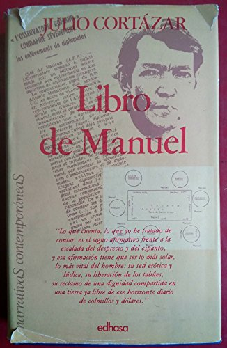 9788435001670: Libro de Manuel (Narrativas contemporáneas) (Spanish Edition)