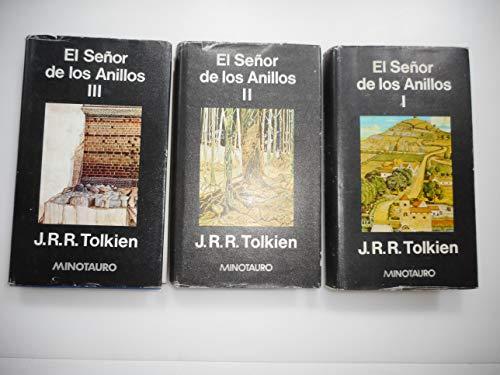 9788435002011: El Senor de los Anillos (3 volumes) I, II & III - La Cumunidad Del Anillo, Las Dos Torres, El Retorno Del Rey