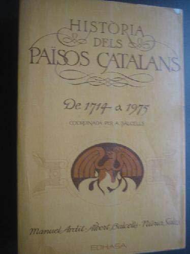 Història dels països catalans; t.1 de 1714: Manuel Ardit