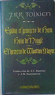 9788435003469: Egidio, el granjero de Ham, Hoja de Niggle & El herrero de Wootton Mayor