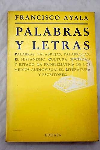 9788435004152: Palabras y letras (Spanish Edition)