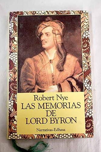 9788435005609: Las memorias de lord Byron (Narrativas Históricas)