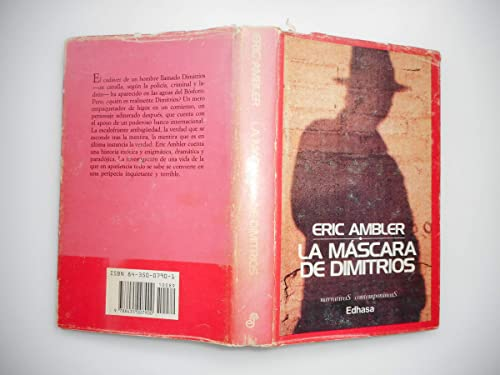 9788435007900: La mascara de dimitrios