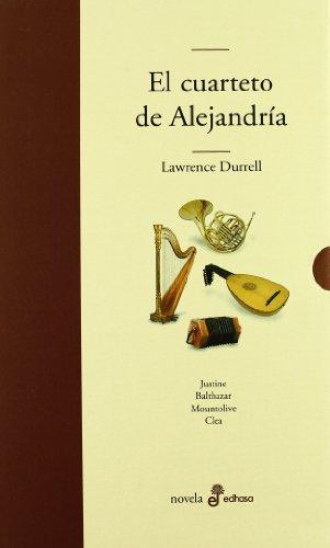 9788435009331: El cuarteto de alejandría (estuche 4 vols.) (Edhasa Literaria)
