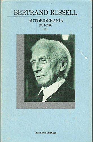 9788435012188: 1944-1967 (autobiografia de bertrand russell; t.3)