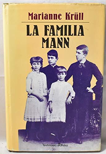 9788435012287: La familia Mann (Biografías)