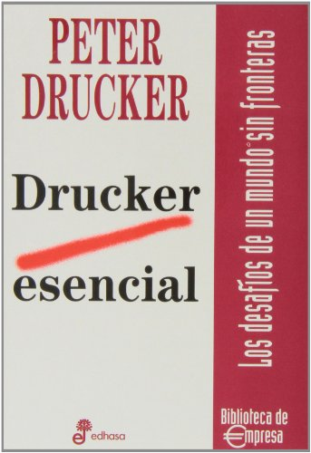 9788435014540: Drucker esencial