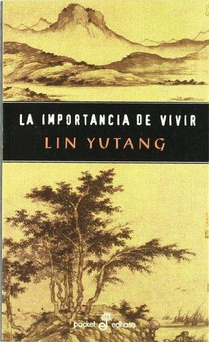 9788435015448: IMPORTANCIA DE VIVIR (EDHASA/POCKET)