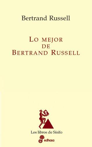 9788435027113: Lo mejor de Bertrand Russell (Los libros de Sísifo)
