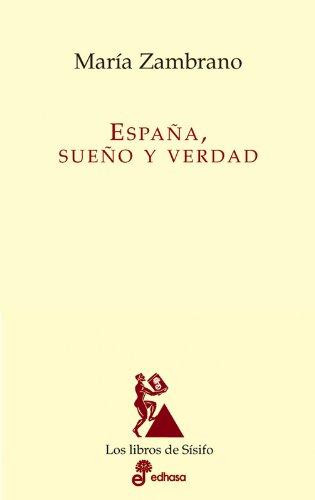 9788435027120: España, sueño y verdad (Los libros de Sísifo)