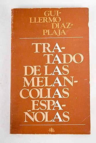9788435800686: Tratado de las melancol¸as españolas