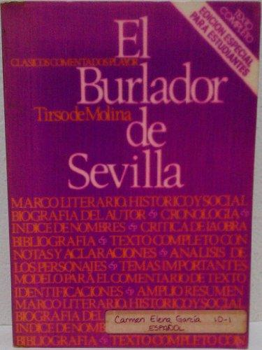 9788435902229: El burlador de Sevilla y convidado de piedra (Clasicos comentados Playor)