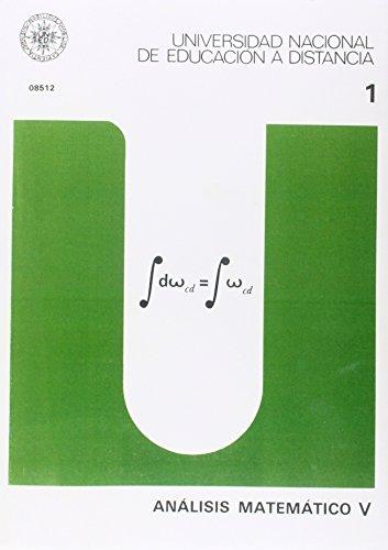 9788436223309: Análisis Matemático V: 2 (UNIDAD DIDÁCTICA)