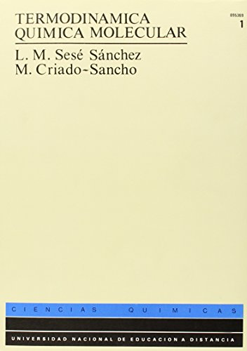 9788436225778: Termodinámica Química Molecular: 2 (UNIDAD DIDÁCTICA)